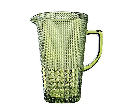 Cilio karaf, glas, smaragd, 15,5 x 14,5 x 22,5 cm
