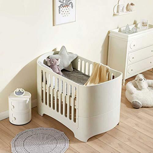 Houten baby European Style Crib Baby-bed Bed Pasgeboren Multifunctionele Classic Children's Bed Convertible Aan 3 posities van de peuter bed Om jonger dan 6 jaar Slaapbank