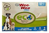 Wee-Wee Puppy Pee Pads 50 Count Standard 22' x 23' - Eco-Friendly