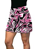 Loudmouth Golf Pink Marble Active Skort XXL