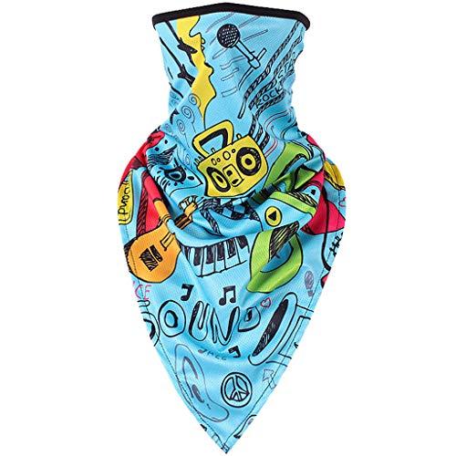Lazzboy Multifunktionstuch - Nahtloses Halstuch, Schlauchtuch, Schal, Kopftuch, Stirnband, Unisex, Fahren Im Freien 3d-druck Schnelltrocknend Winddicht(R)