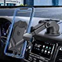 Manords Long Neck Dash & Windshield Phone Holder