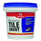 Red Devil 0422 Pre-Mixed Tile Grout, 1/2 Pint,...