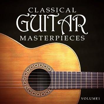 Classical Guitar Masterpieces Vol 1