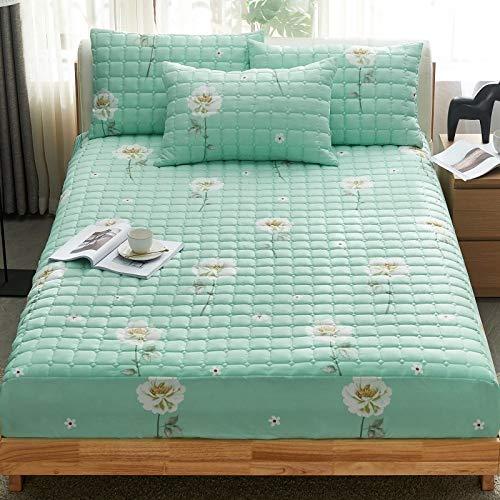 Hllhpc Nieuwe bed cover enkel stuk gewatteerde dikke herfst en winter bed cover