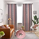 |Curtains|Double Layer Blackout Curtains Star Cutout for Living Room Jinya Home Decor White