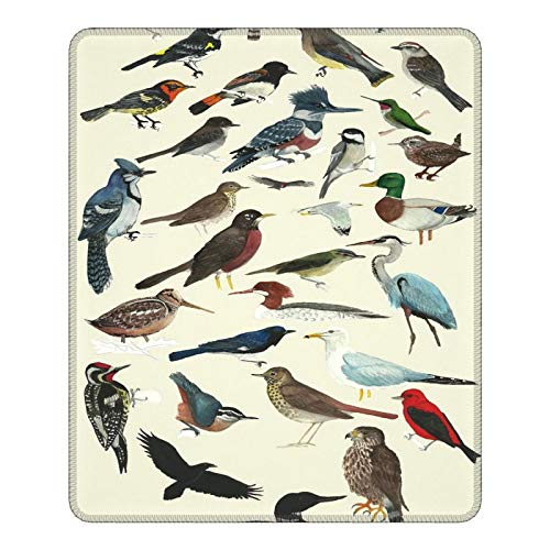 Bird Fanatic Hemming The Gaming Mouse Pad 25 X 30cm Esports Office Study Computer