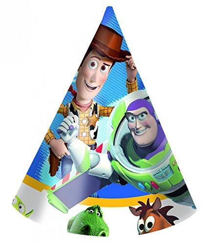 Folat - 6 chapeaux de fête Toy Story
