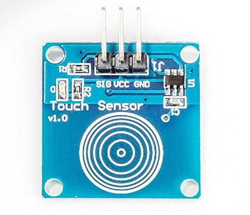 MissBirdler Kapazitiv Sensor capacitive Touch Modul Touchsensormodul TTP223B TTP223 für Arduino Raspberry pi
