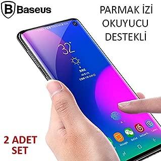 Baseus Sm Galaxy S10 Full Kaplayan Pet Ekran Koruyucu 2 Adet Set ŞEFFAF