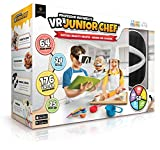 Professor Maxwell's VR Junior Chef Virtual Reality Kids Cookbook and Interactive Cooking Food Science Learning Activity Set