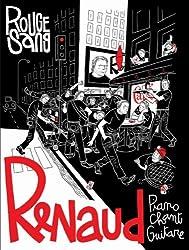Renaud - Rouge sang - 24 titres + 2 bonus - Piano, Chant, Guitare