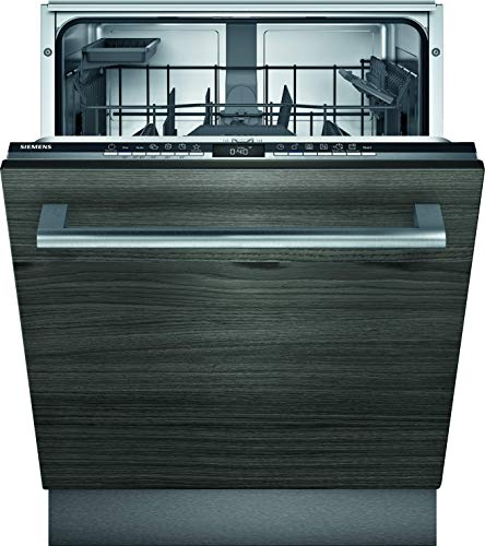 Siemens SN63EX15AE iQ300 Vollintegrierter Geschirrspüler / C / 74 kWh / 13 MGD / Smart Home kompatibel via Home Connect / flex Korbsystem mit rackMatik im Oberkorb / timeLight