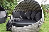 Sonneninsel Polyrattan Rattan WT-6001 Lounge Wellness