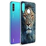 Pnakqil for Huawei P30 Lite / P30 Lite New Edition Phone Case, Transparent Clear with...