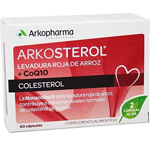 Arkopharma Levadura Roja de Arroz con CoQ10, 60 Cápsulas