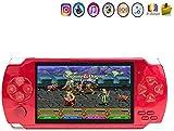 Videojuegos para los niños Retro juego de consola de 128 bits consola de juegos portátil de 4.3' TFT pantalla clásico...
