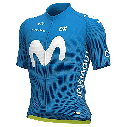 Alé Trikot Movistar Team 2020 hellblau Gr. XL