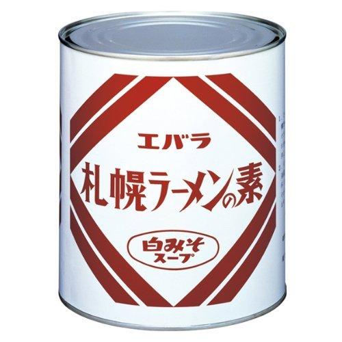 エバラ 札幌ラーメンの素白みそスープ 1号缶