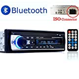 PolarLander Radio de Voiture Audio USB/SD/Lecteur MP3 Récepteur Bluetooth Mains...