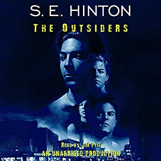 The Outsiders                   By:                                                                                                                                 S.E. Hinton                               Narrated by:                                                                                                                                 Jim Fyfe                      Length: 5 hrs and 8 mins     4,366 ratings     Overall 4.6
