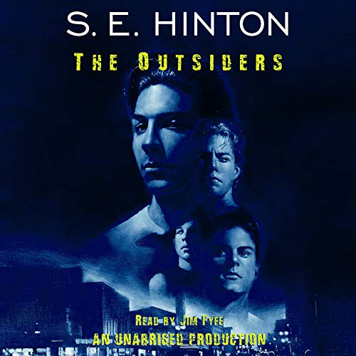 The Outsiders                   By:                                                                                                                                 S.E. Hinton                               Narrated by:                                                                                                                                 Jim Fyfe                      Length: 5 hrs and 8 mins     4,580 ratings     Overall 4.6