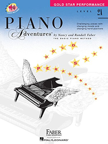 Level 2A - Gold Star Performance with Online Audio: Piano Adventures