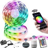 LED Strip 10M,Richsing Smart RGB LED Streifen WiFi...
