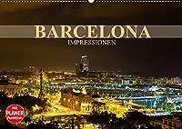 Barcelona Impressionen (Wandkalender 2022 DIN A2 quer): Kommen Sie mit auf eine Reise in die katalanische Metropole Barcelona (Geburtstagskalender, 14 Seiten )