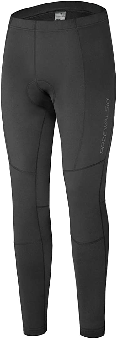 Przewalski Men's Compression Year-end gift Cycling Indefinitely Workout Leggi Padded Tights