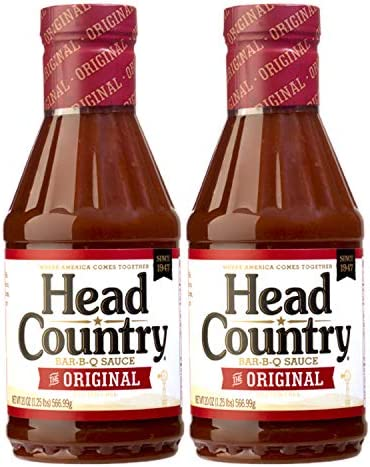 Head Country Bar B Que Sauce 20 oz Bottle Pack of 2 product image