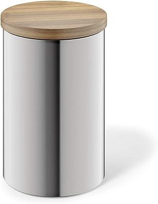 ZACK 24003 Cero Storage Canister, Medium, Silver