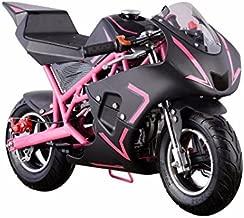 XtremepowerUS 40CC 4-Stroke Gas Power Mini Pocket Motorcycle Ride-on (Pink)