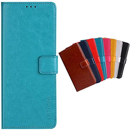 Case for Xiaomi Redmi Note 9T Premium PU Leather Full Body Shockproof Wallet Flip Case Cover with Card Slot Holder and Magnetic Closure for Xiaomi Redmi Note 9T Phone Case (Blue)