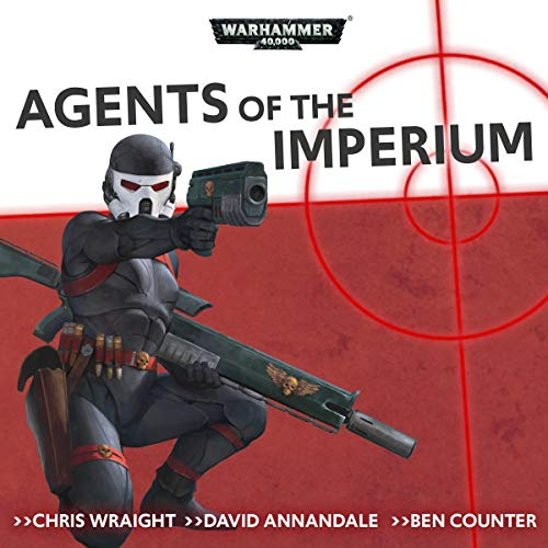 Agents of the Imperium audiobook cover art