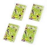 cama24com Fussball Flipper Pinnball Spiel Fussball-Mottoparty Mitgebsel Gastgeschenke12 Stück mit Palandi Sticker