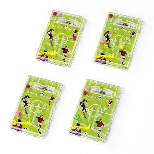 cama24com Fussball Flipper Pinnball Spiel Fussball-Mottoparty Mitgebsel Gastgeschenke12 Stück mit Palandi® Sticker