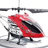 SXLCKJ Resistencia a la caída Helicóptero RC Drone Giroscopio Incorporado Hélices de 3,5 Canales Aviones controlados por Radio Giroscopio Stab (Coche Inteligente)