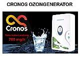 CRONOS 2 in 1 generatore di ozono e ionizzatore per aria, acqua e alimenti – solo con noi con 700 mg/h di potenza