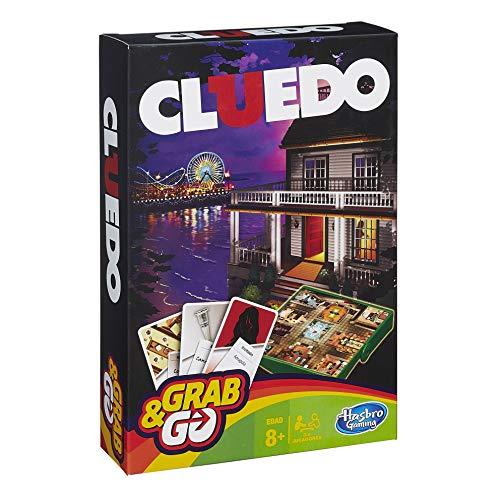 Hasbro Gaming Gaming Travel Cluedo Viaje (Versión Española) (Hasbro Spain B0999105)