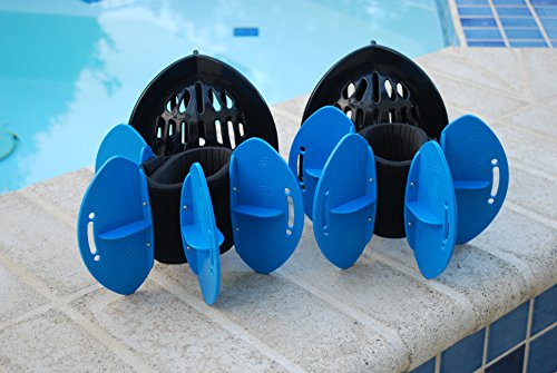 Great Features Of AquaLogix Total Body System - Upper Body Aquatic Bells & Lower Body Fins - Full Bo...