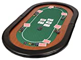 Riverboat Gaming Champion Tablero de póquer Plegable - Mesa de Poker en Suited...