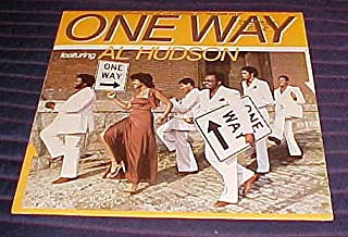 One Way featuring Al Hudson includes You Can Do It Record Vinyl Album
