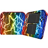 Lightning Design Video Game Vinyl Skin Decal with 2PCS Screen Protector for Nintendo 2DS System Console...