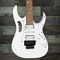 Ibanez JEMJRWH Steve Vai Signature 6-String Electric Guitar (White)
