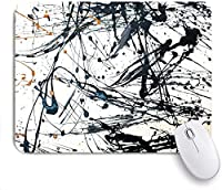 Mabby ゲームオフィスのマウスパッド,Abstract art creative Hand painted background,Non-Slip Rubber Base Mousepad for Laptop Computer PC Office,Cute Design Desk Accessories