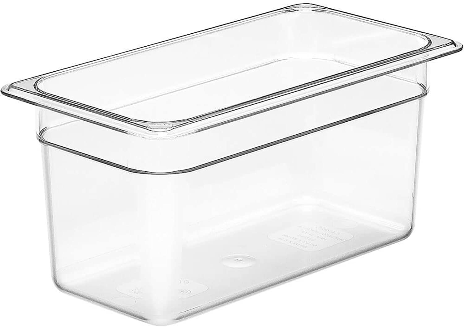 Cambro 36CW135 Camwear Food Pan 1 3-size 6 D clear - Case of 6