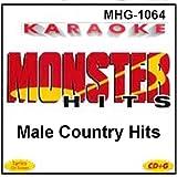 Monster Hits Karaoke #1064 - Male Country Hits