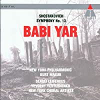 "Symphony 13 ""Babi Yar"""