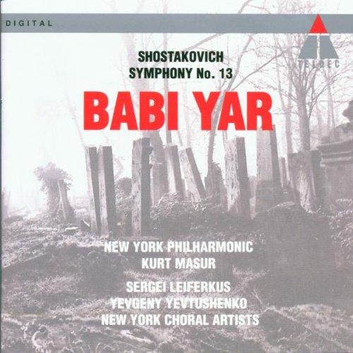Shostakovich: Symphony No. 13- Babi Yar